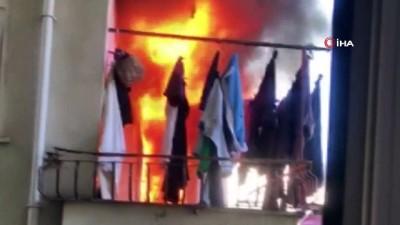 yangina mudahale -  Rize'de Korkutan Yangın