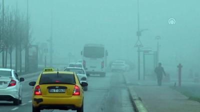 polis ekipleri - Sakarya, Kocaeli ve Düzce'de yoğun sis