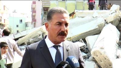 5 katlı bina çöktü - Hamit Tuna açıklama - MERSİN