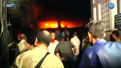 Bangladeş'teki Yangında Onlarca Ölü