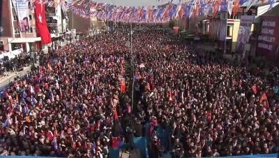 Cumhurbaşkanı Erdoğan: 'Cumhur İttifakı'nın karşısına dörtlü bir çete çıkardılar' - DENİZLİ