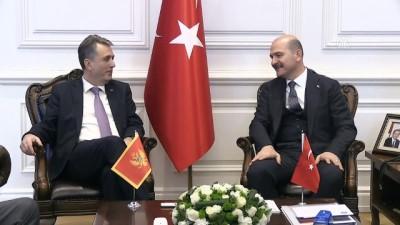 İçişleri Bakanı Soylu, Nuhodzic'i resmi törenle karşıladı - ANKARA