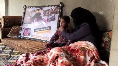 İsrail'in 4 defa yaraladığı Filistinli kadın gösterilerden vazgeçmiyor - GAZZE