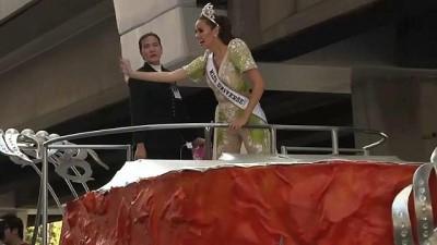 Kainat güzeli ülkesi Filipinler'de kraliçe gibi karşılandı