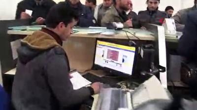 ara transfer -  - PTT Halep'in Mare kasabasında da hizmet veriyor