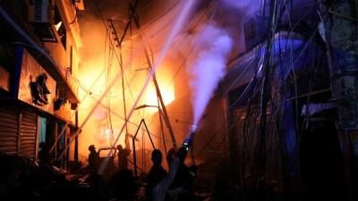 Video : Bangladeş'te yangın: 70 ölü, sayı artabilir