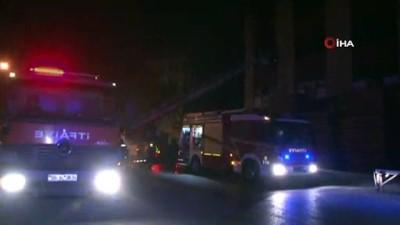Başkent'te mobilya atölyesinde korkutan yangın
