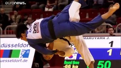 Düsseldorf Judo Grand Slam: Japon judokalar rakiplerine şans tanımadı