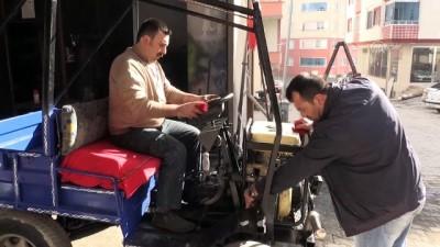 hurda arac - Oto tamircisi kardeşlerden fındık taşıma aracı - ORDU