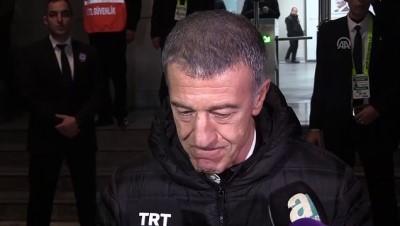 Trabzonspor Kulübü Başkanı Ağaoğlu: 'İyi bir galibiyet oldu, buna da ihtiyacımız vardı' - İZMİR