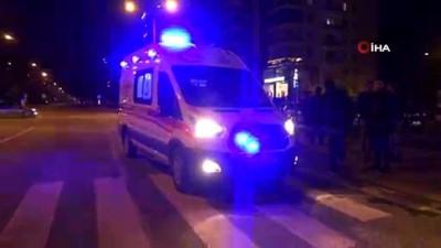alkollu surucu -  Alkollü sürücü kırmızı ışıkta bekleyen otomobile çarptı
