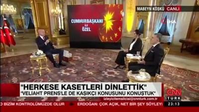 Cumhurbaşkanı Erdoğan: Veliaht Prens bilmeyecek de kim bilecek?'