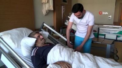 akciger kanseri -  Akciğer kanaması ameliyatsız yöntemle durduruldu