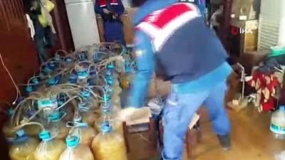 alkollu icki -  Bursa'da bin 400 litre kaçak alkol ele geçirildi