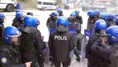Kırıkkale'de toplumsal olaylara müdahale tatbikatı