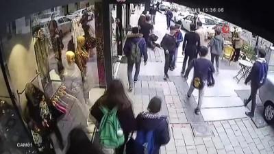 Lise öğrencisine kemerle öldüresiye dayak kamerada
