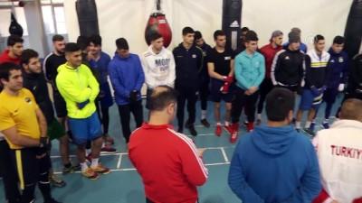 boksor - Milli boksörler Avrupa Şampiyonası'na hazırlanıyor - KASTAMONU