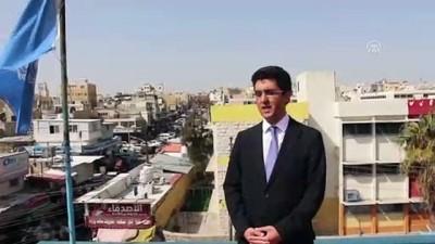 multeci kampi - TİKA Ürdün'deki UNRWA okulunu yenileme çalışmalarını tamamladı - AMMAN