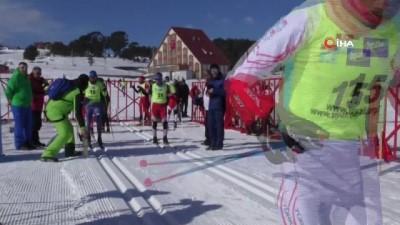 260 sporcunun katıldığı Kayaklı Koşu Ligi 2. Etap Yarışları başladı