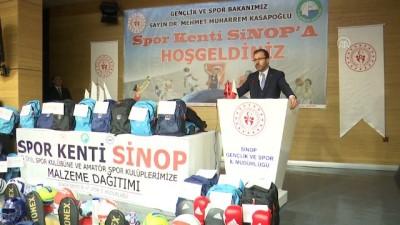 Bakan Kasapoğlu, gençlerle buluştu - SİNOP