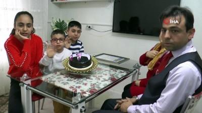 Cumhurbaşkanı'nın doğum gününü kutladı, organ nakli için destek istedi
