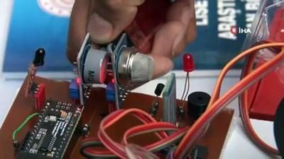 gaz sizintisi - 'Robot kol' ile daha güvenli kimya deneyleri yapılacak