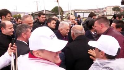Binali Yıldırım, Ömerli'deki Alphin Hindi Fabrikasını ziyaret etti (2) - İSTANBUL