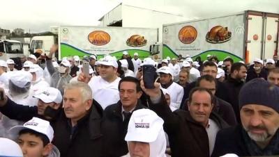 Binali Yıldırım, Ömerli'deki Alphin Hindi Fabrikasını ziyaret etti - İSTANBUL