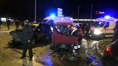 alkollu surucu -  Bolu'da alkollü sürücü 2 araca arkadan çarptı: 4 yaralı