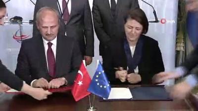 Türkiye'de yürütülen en büyük AB yatırım projesinin imzaları atıldı