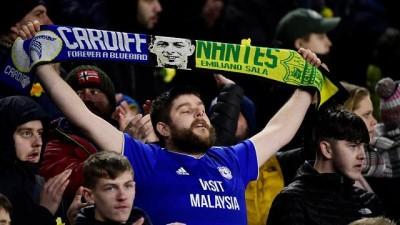 yildiz futbolcu - Cardiff City'de maç öncesi Emiliano Sala'ya saygı duruşu
