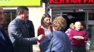 Zeybekci, Whatsapp'tan kendisini davet eden kahvehaneci ziyaret etti