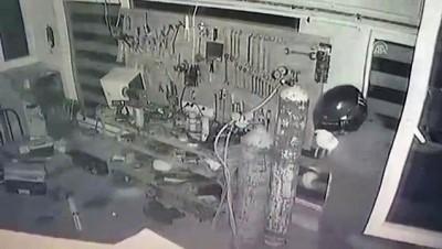 Adıyaman'da iş yerinden hırsızlık iddiası