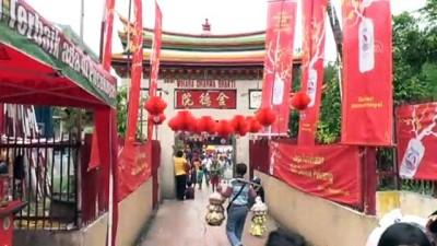 Endonezya'da ''Çin Yeni Yılı'' kutlamaları - CAKARTA