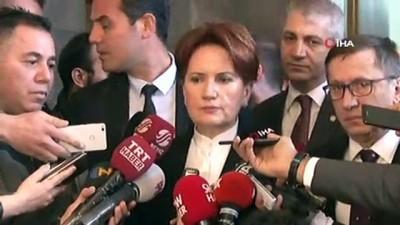 """cesar -  İYİ Parti Genel Başkanı Akşener: """"Bugün gelinen noktada Türkiye'nin birliğe, beraberliğe, huzura ihtiyacı var"""""""