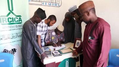 Nijerya'nın ilk hattatları Türkiye'nin desteğiyle eğitim alıyor - KADUNA