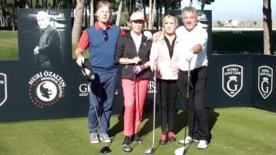 odul toreni - 'Nuri Özaltın Memorial Golf Trophy' başladı - ANTALYA