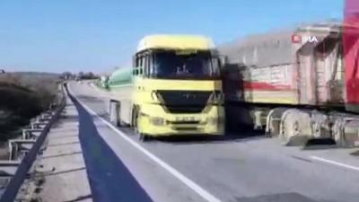 yolcu otobusu -  Yolcu otobüsü ile tır çarpıştı: 18 yaralı