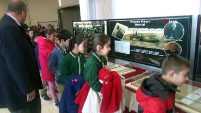 Çanakkale Gezici Müzesi Ahlat'ta ziyarete açıldı