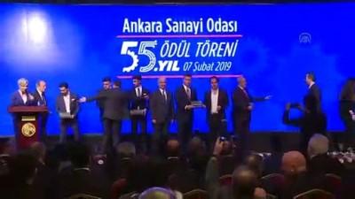 odul toreni - Ankara Sanayi Odası'nın 55. yıl ödül töreni - ANKARA