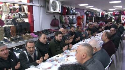 BBP Sivas Belediye Başkan adayı Ürgüp esnafla buluştu