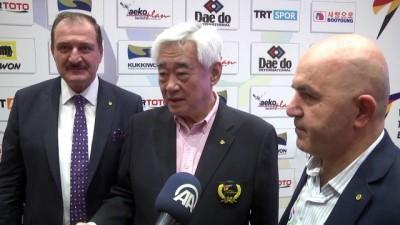 dunya kupasi - Dünya Tekvando Federasyonu Başkanı Choue'den Türkiye'ye övgü - ANTALYA