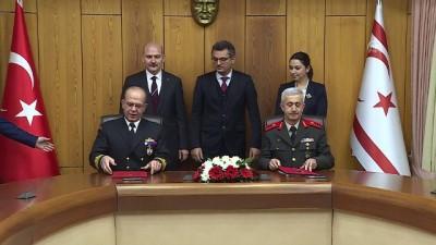 Türkiye ile KKTC arasında 'Sahil Güvenlik' protokolü imzalandı - LEFKOŞA