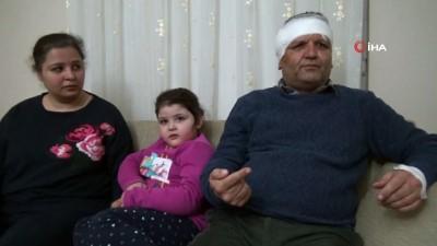 Veli tarafından maket bıçağı ile başından yaralanan öğretmen konuştu