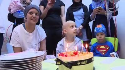 Yıldırım, kanser tedavisi gören çocukları ziyaret etti - İSTANBUL