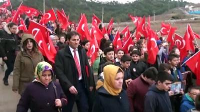El Bab şehidi için anma yürüyüşü düzenlendi - KARABÜK
