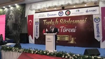 Hak-İş Başkanı Arslan: 'Önümüzdeki süreç bizim için güzel günlerin yakın olduğunu gösteriyor' - GAZİANTEP