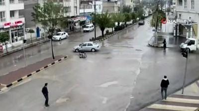 Kilis'te motosiklet kazaları kameralara böyle yansıdı