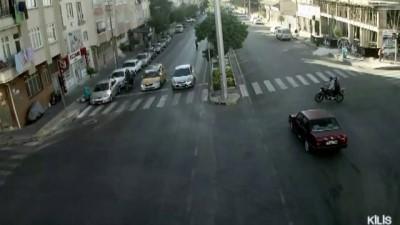 Trafik kazaları MOBESE kameralarında - KİLİS