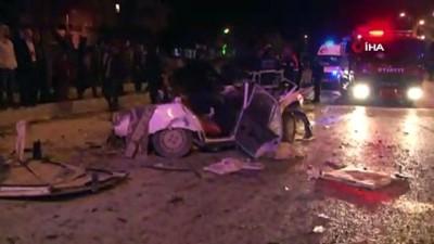 Lüks otomobiliyle 2 kişiyi öldüren 4 kişiyi yaralayan sürücü yakalandı
